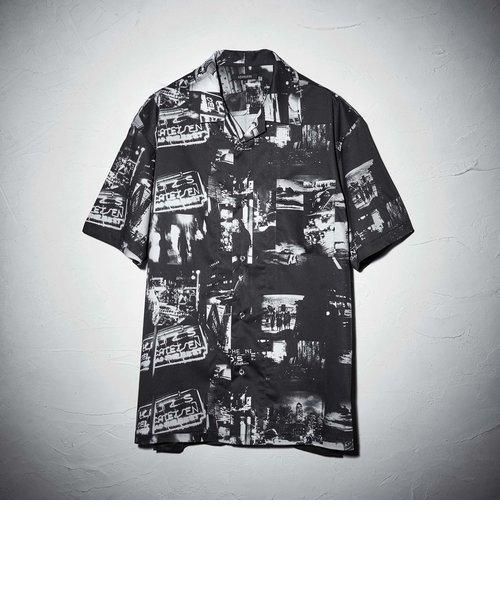 森山大道×LOVELESS グラフィック シャツ