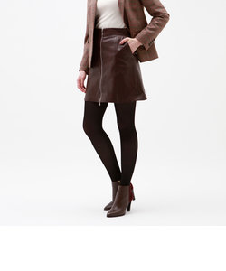 レザー ZIP スカート