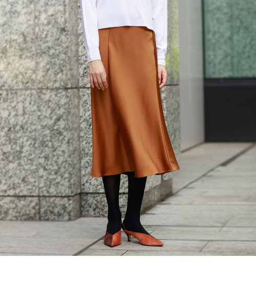 グロッシーミモレスカート