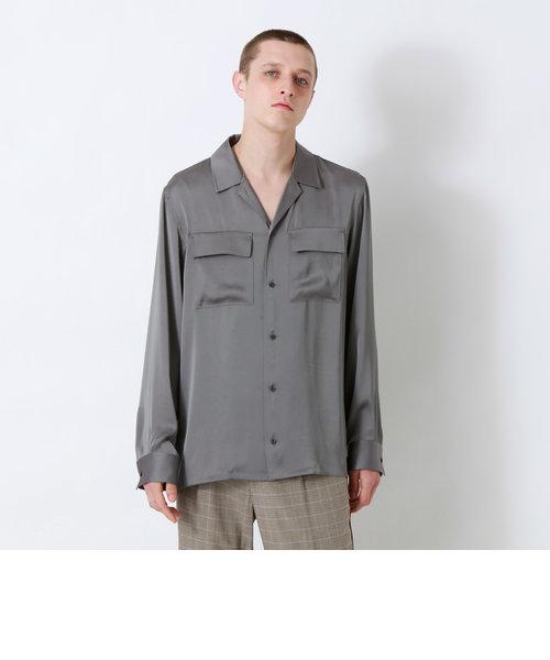 ヴィンテージサテン オーバーシャツ