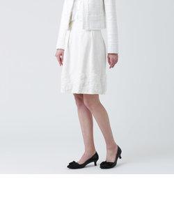スラブツイードストレッチスカート