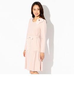 ウールスムースドレス