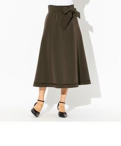 ダブルクロスロングスカート
