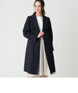【Sサイズ~】綿ナイロンツイルラップコート