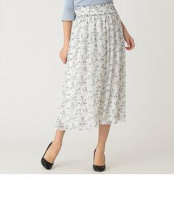 【WEB限定】【Tricolore】ガーデンプリントスカート