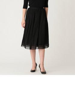リネンミックスツイルスカート