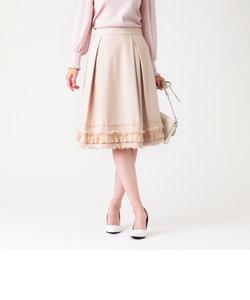 ポリエステルレーヨングログランスカート