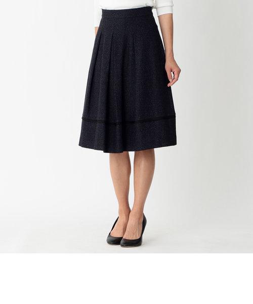 カラミツイードスカート