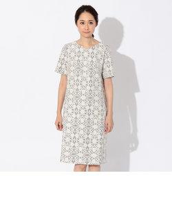 レーシーボンディングドレス