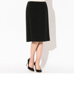 ウール2重織Aラインスカート