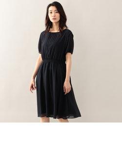 シャーリースモック刺繍入りドレス