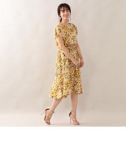 モザイクローンプリントサマードレス