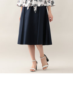 【UV対策】【接触冷感】【ウォッシャブル】フルダルドライストレッチツイルフレアスカート