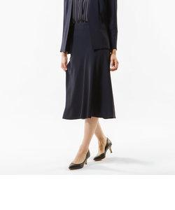【Sサイズ~】【セットアップ対応】【美Skirt】【ウォッシャブル】バックサテンジョーゼットスカート