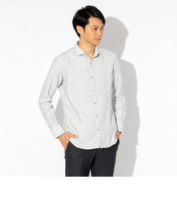 TOP杢ドビーシャツ