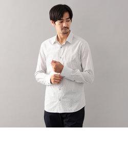 ストライプフラワージャカードシャツ