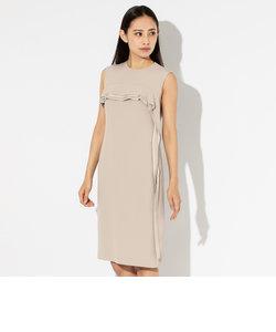 グロッシーバックサテン ドレス