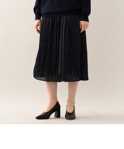 【E_EPOCA THE SHOP】プラチナサテンプリーツ スカート