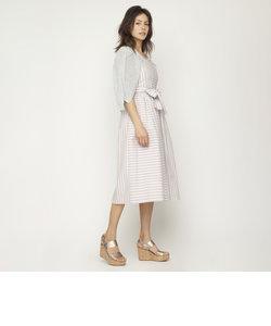 【E_EPOCA THE SHOP】ランダムストライプ ドレス
