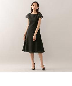 サークルカットワークレース ドレス