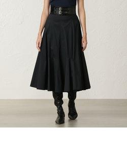 コットンクロスフレアスカート
