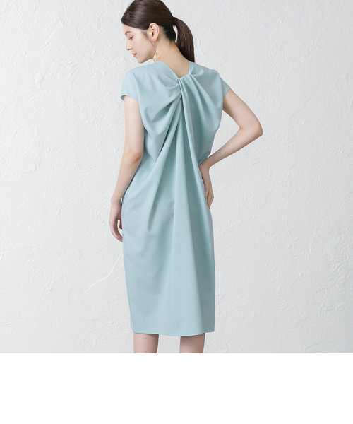 【support surface】バックドレープドレス