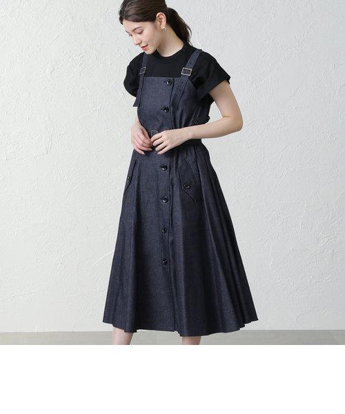 【EZUMI】デニムドレス