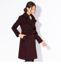 【Rain Wool】Super180'Sビーバートレンチコート