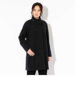 〈Flat-Seam Coat〉スタンドカラーコート
