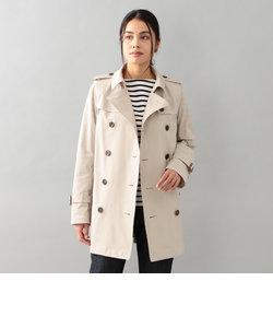 <Spring Coat>コットンソロショートダブルトレンチ
