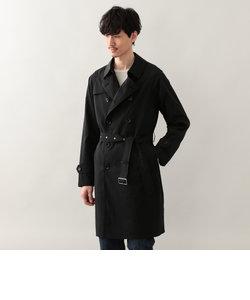 <Spring Coat>ナイロンワッシャーダブルトレンチコート