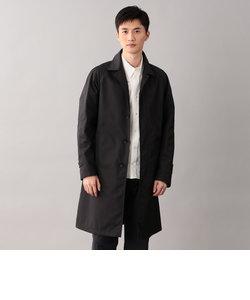 〈Spring Coat〉ダブルクロス先染めツイルステンカラーコート