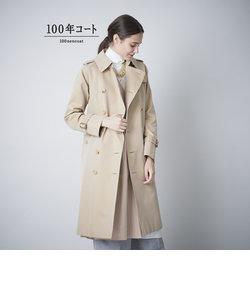 <100年コート>クラシックトレンチコート(三陽格子)