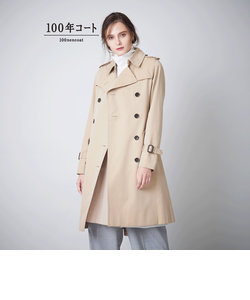<100年コート>ダブルトレンチコート