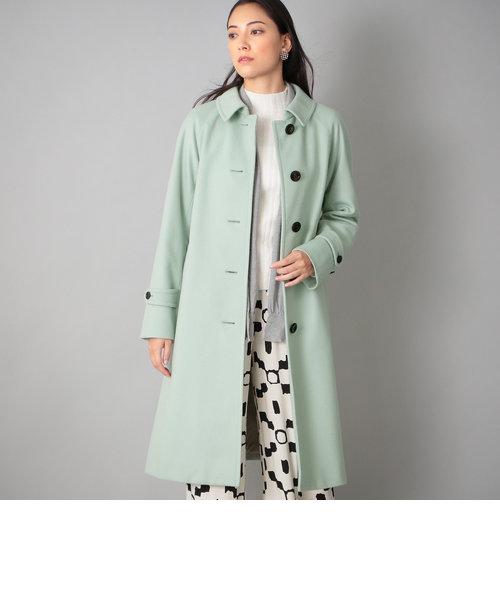 <Rain Wool>カシミヤ混バルマカーンコート