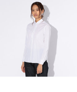 【WOMENS】汚れが落ちやすいレギュラーカラーシャツ