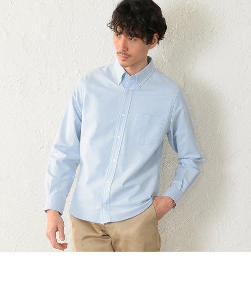 【2nd SKINシリーズ】超長綿オックスフォード ボタンダウンシャツ