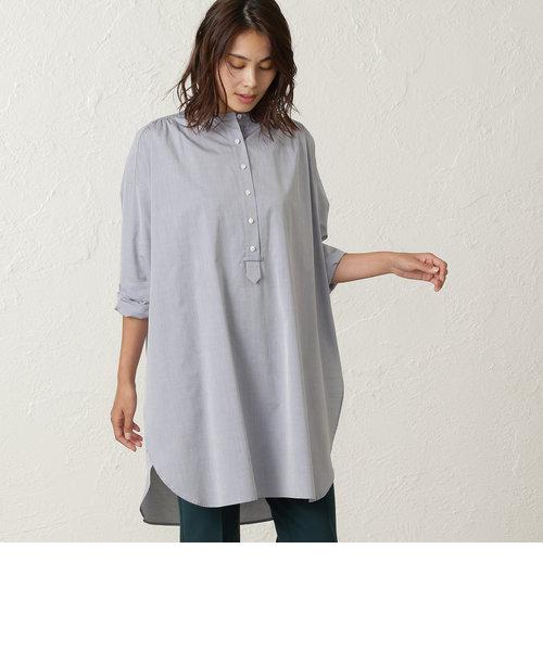 GIZA88 高密度綿ブロード ビッグシルエットシャツ