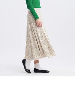 クレープランダムドットスカート