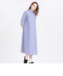 タイプライターシャツドレス