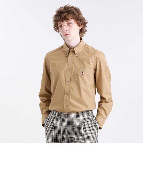 【BUCKINGHAM BEAR】コットンタイプライターB.Dシャツ