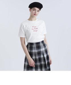 メッセージTシャツ「Enjoy the little things」