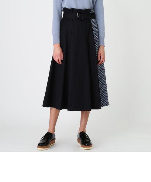 ブリットチェックパーシャルスカート