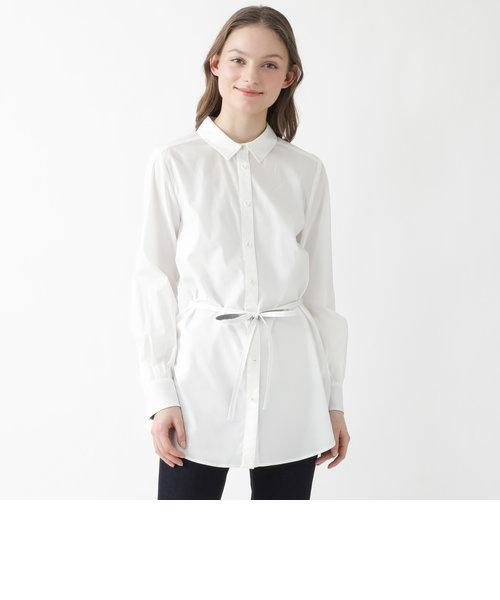 フィブリルローンチュニックシャツ