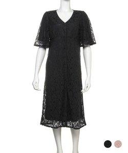 【パジャマ・ルームウェア】 レーシーロングドレス LACY LONG DRESS (C188)