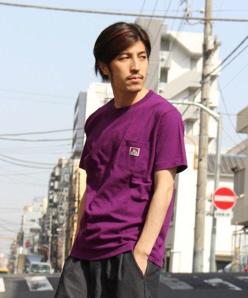 BEN DAVIS/ベーシックピスネームポケット半袖Tシャツ