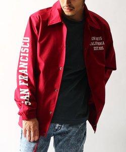 BEN DAVIS / ロゴプリント コーチジャケット