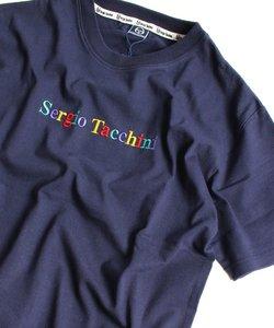 SERGIO TACCHINI( セルジオ タッキーニ )/ ロゴ刺繍 半袖Tシャツ