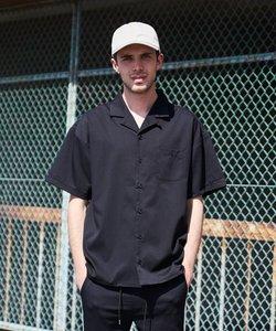 ストレッチTR素材 オープンカラーシャツ / ナノテック加工