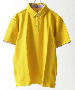 ≪WEB限定販売≫ 鹿の子 ボタンダウン ポロシャツ / ナノテック加工